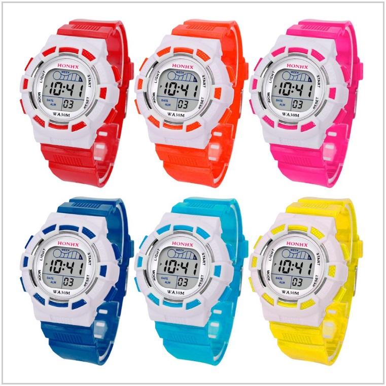 Dětské digitální svítící hodinky / XT-00239