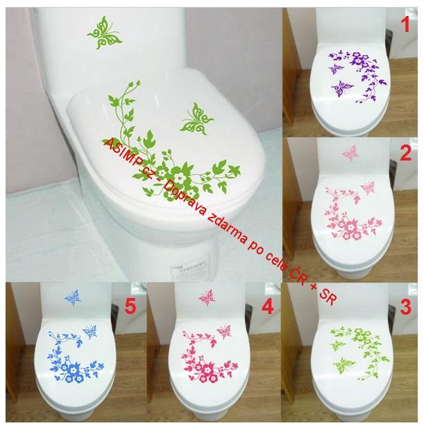 """Samolepící tapeta """"Veselé WC"""" / 35-00011"""
