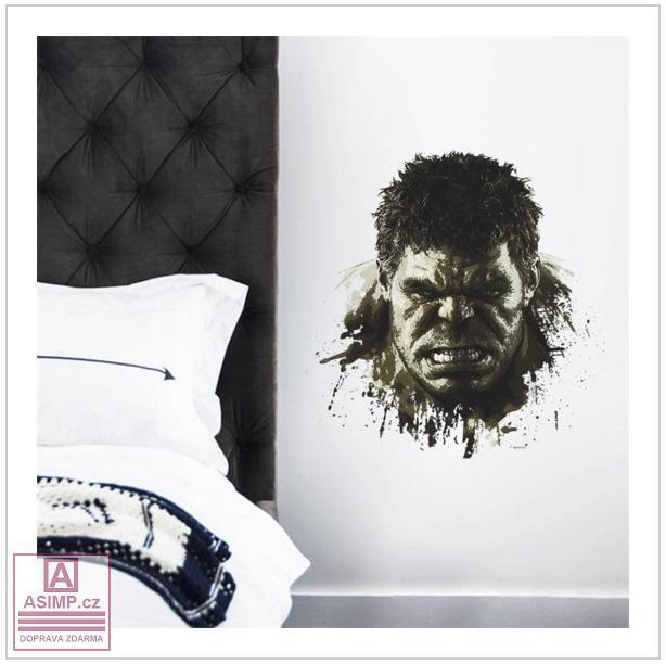 Samolepka na zeď - Hulk / 02Dn-00001