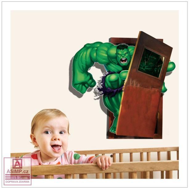 Samolepka na zeď - Hulk / 02Dn-00003