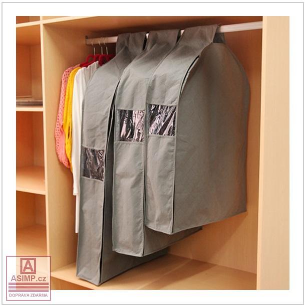 Ochranný obal na šaty (M) / tnk-13-01936b