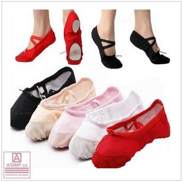 Dámská & dětská baletní obuv / tnk-13-01946