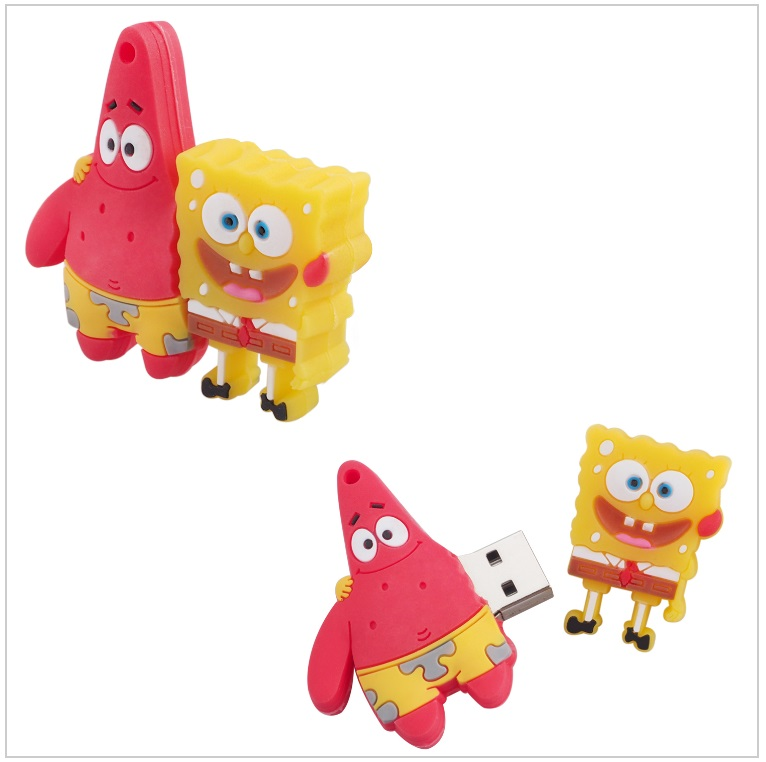 USB paměť - SpongeBob & Patrick Star (16 GB) / tnk-13-02296b