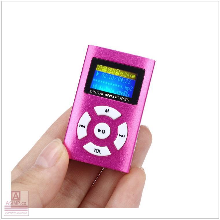 MP3 přehrávač / tnk-13-02439