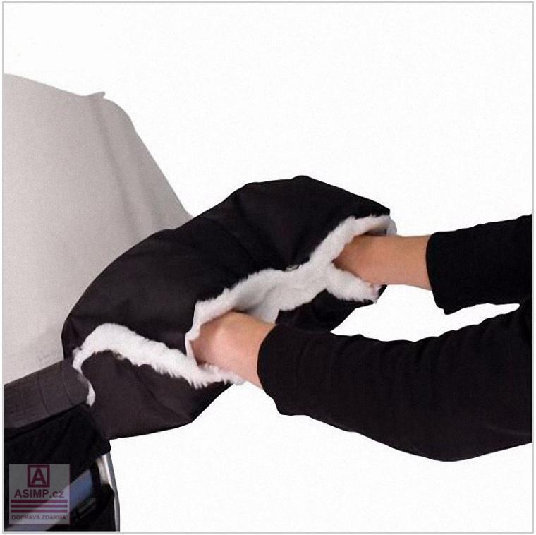 Zimní rukavice na kočárek / dnk-13-01372