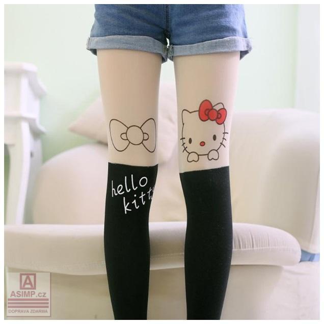 Dětské punčocháče - Hello Kitty / dnk-13-01397