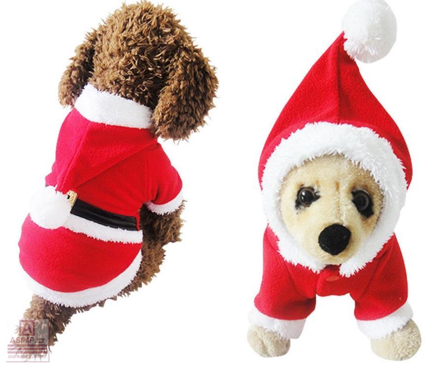 Vánoční obleček pro psy / dnk-13-01480