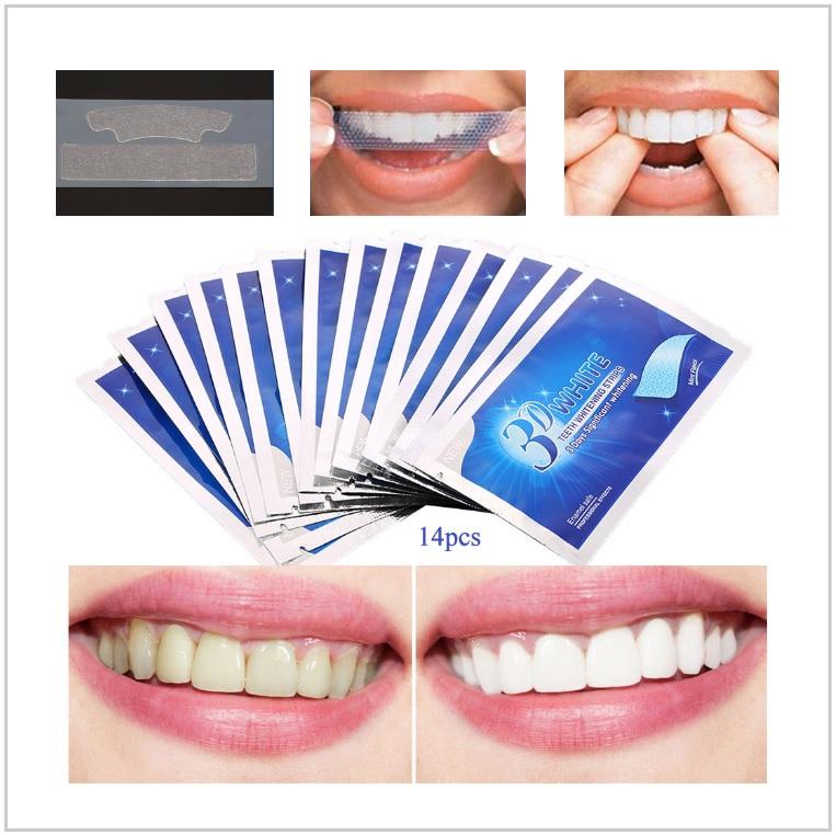 Bělící proužky na zuby (24 ks) / AT-00458