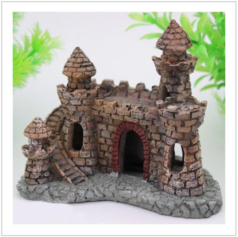 Dekorace do akvária - hrad / AT-00508