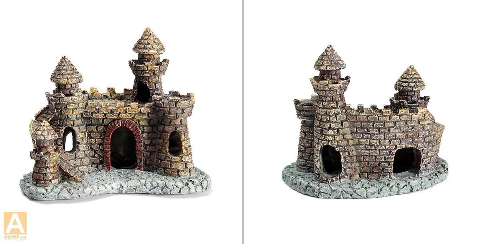 Dekorace do akvária - hrad / A-001123