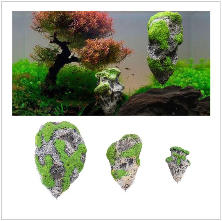Dekorace do akvária - plovoucí kámen / AT-00510