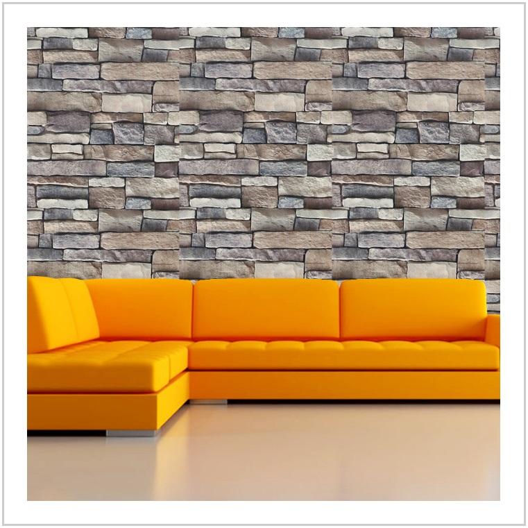 Samolepicí tapeta - kamenný vzor / AT-00517