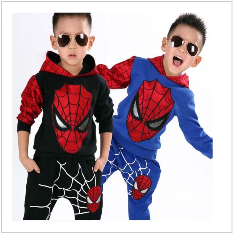 Dětská tepláková souprava - Spiderman / AT-00529