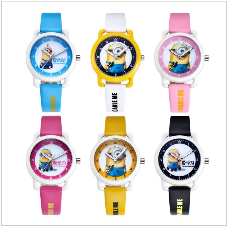 Dětské hodinky - Mimoni / AT-00634