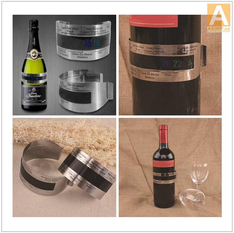 Náramkový teploměr na láhve / AT-00646