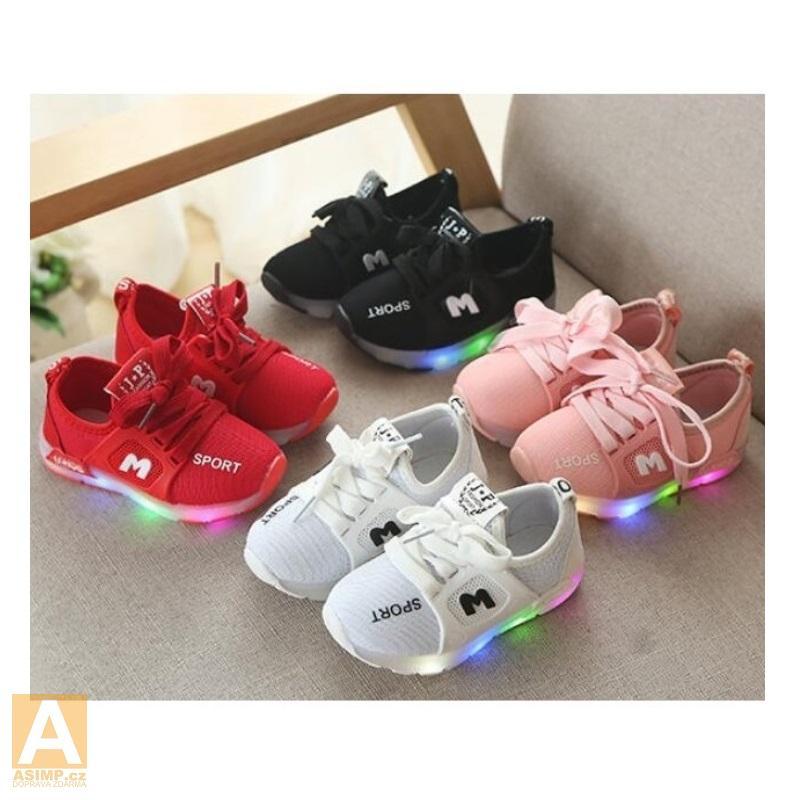 Dětské svítící boty / A-000187