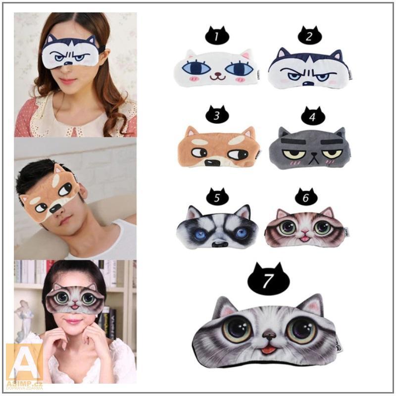 Oční maska na spaní