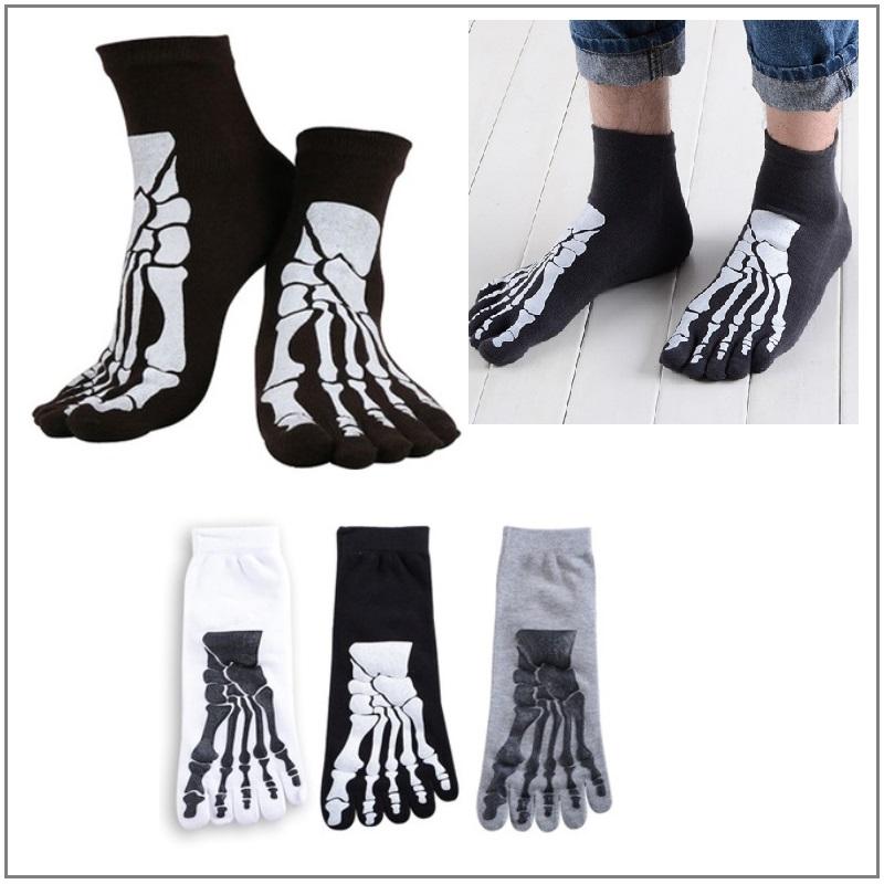 Pánské prstové ponožky - kostra / XT-00433
