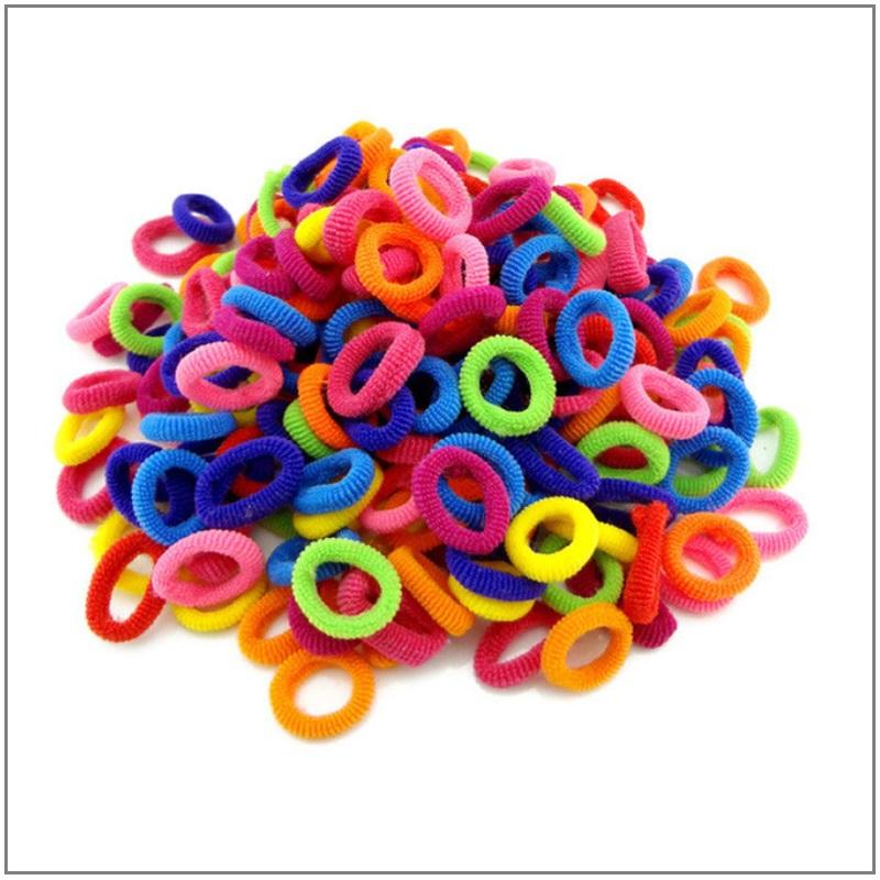 Dětské gumičky do vlasů (100 ks)   XT-00546a 167a506985