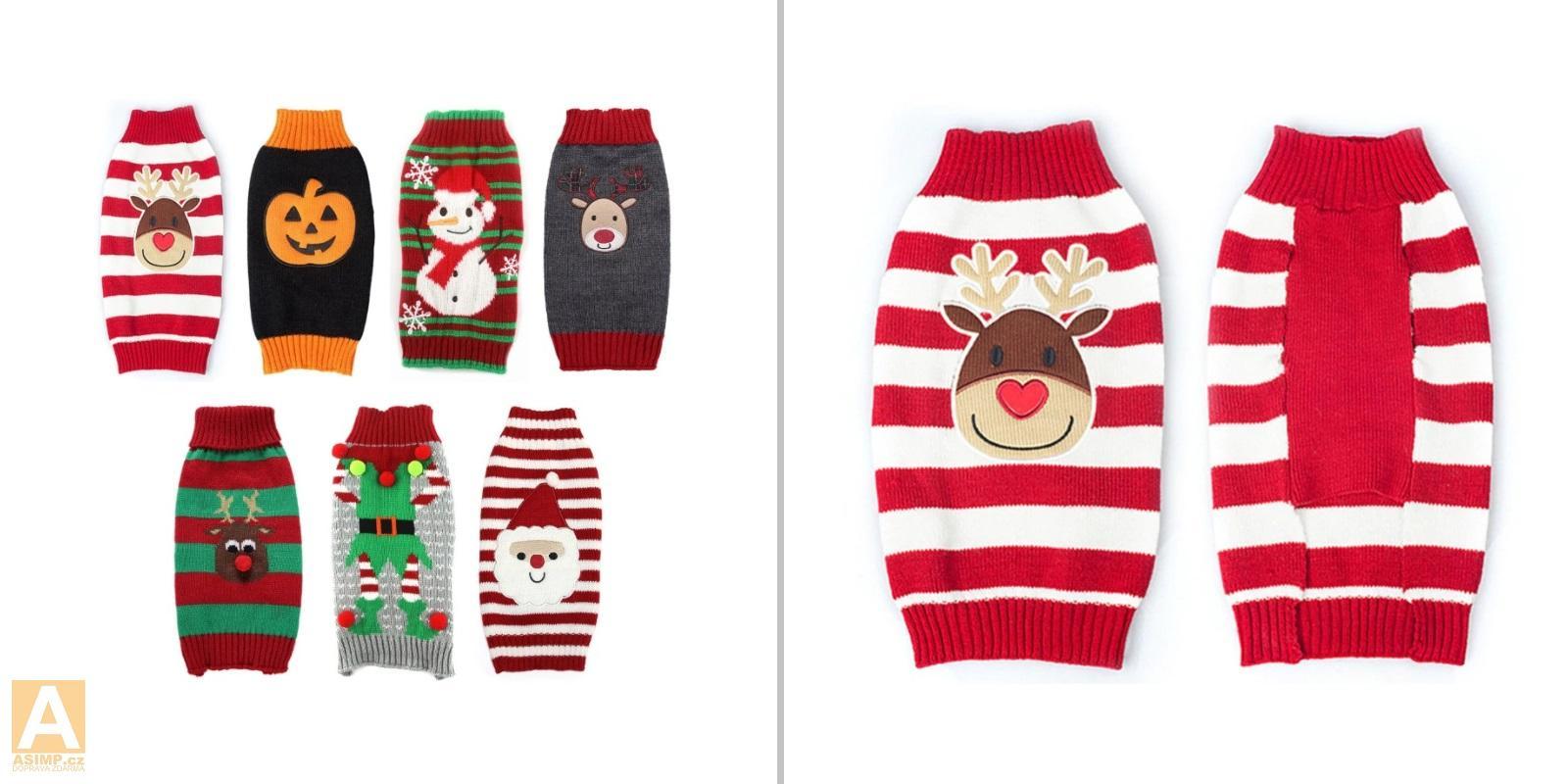 Vánoční svetr pro psy / A-000757