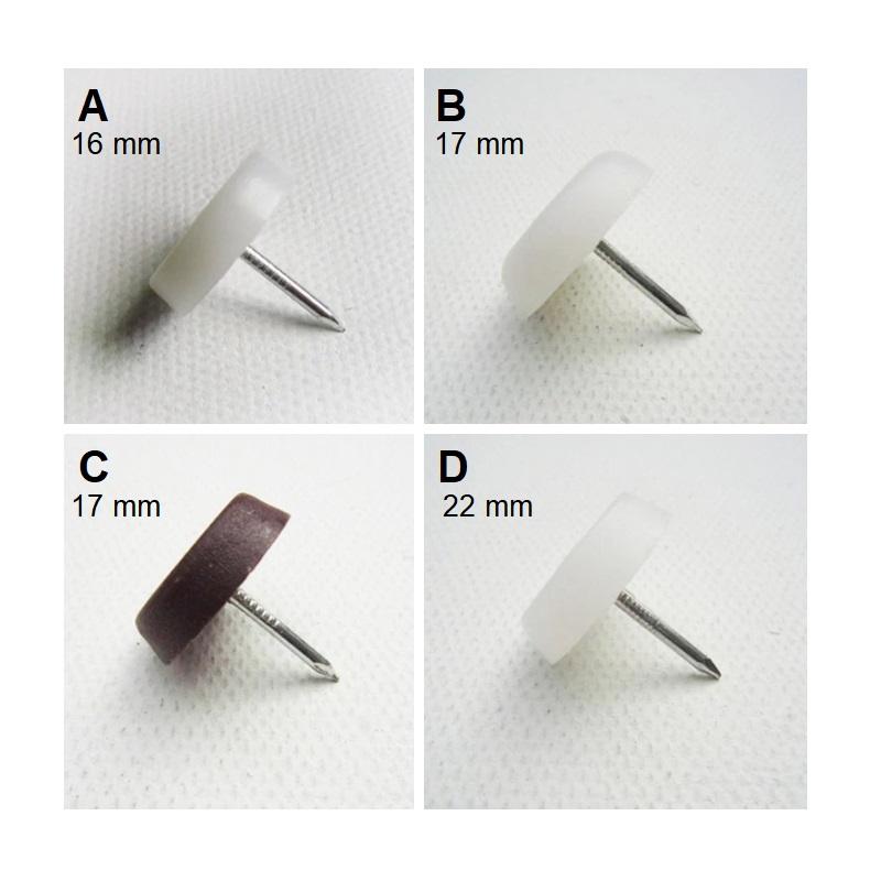 Ochranné špunty na židle, stoly, nábytek (32 ks) / A-001044a / DOPRAVA ZDARMA