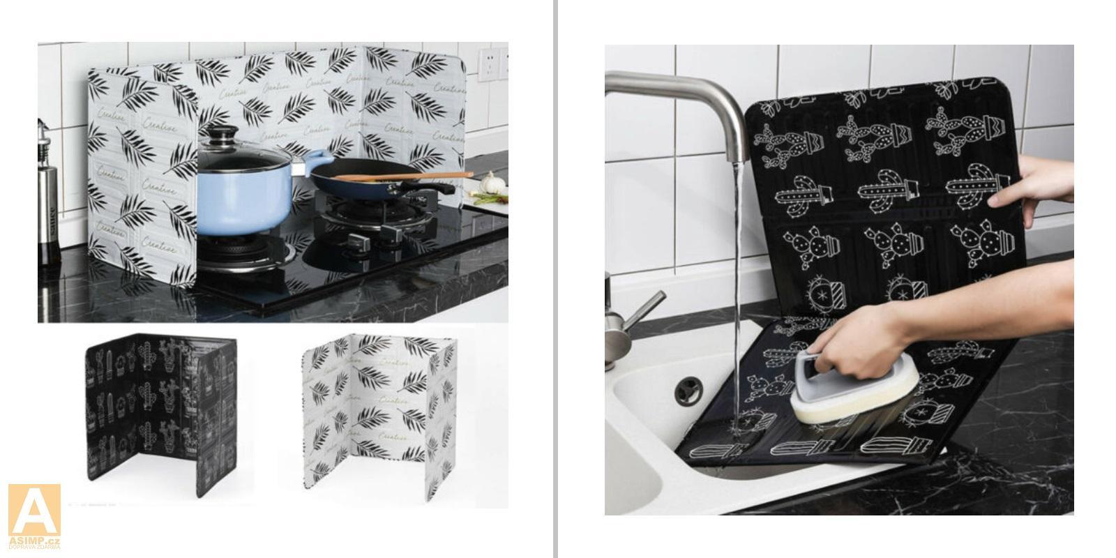 Kuchyňská hliníková zástěna / A-001151