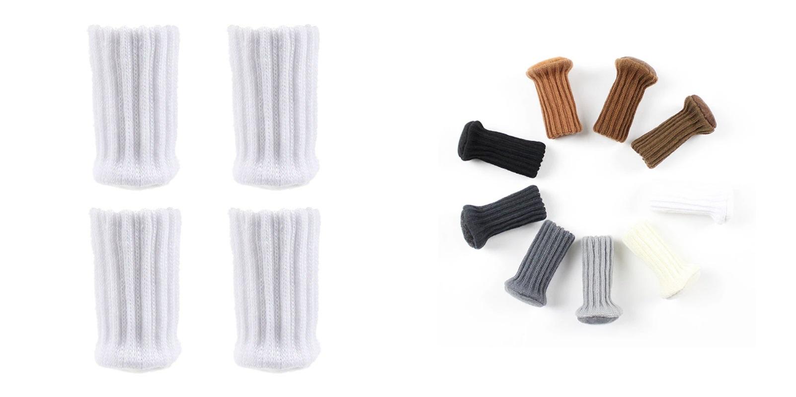Ochranné návleky na nohy od židle (4 ks) / A-001335a / DOPRAVA ZDARMA