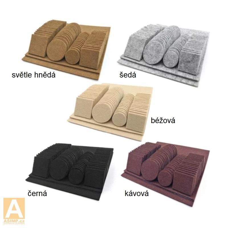 Ochranné podložky na nohy od židle, stolu ... / A-001739a1