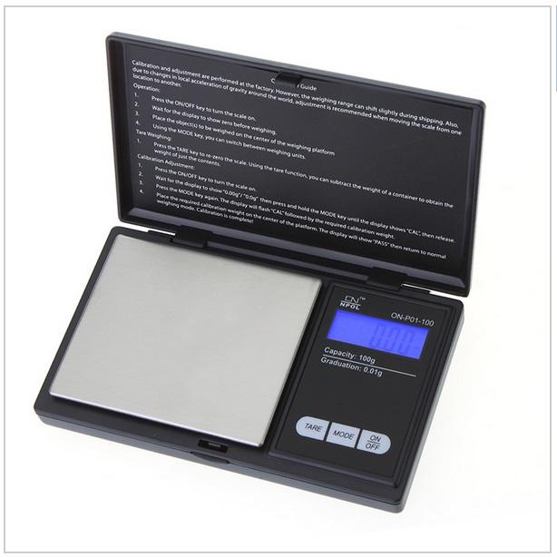 Kapesní digitální váha na šperky (do 100g)