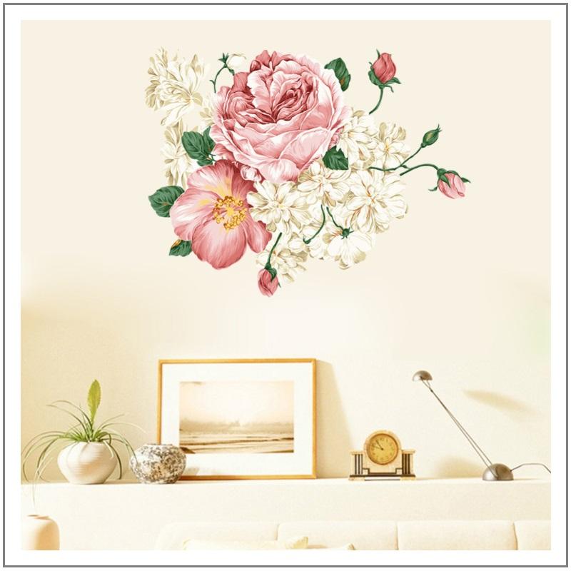 Samolepící tapeta - růže (70 x 50 cm) / 35-00002