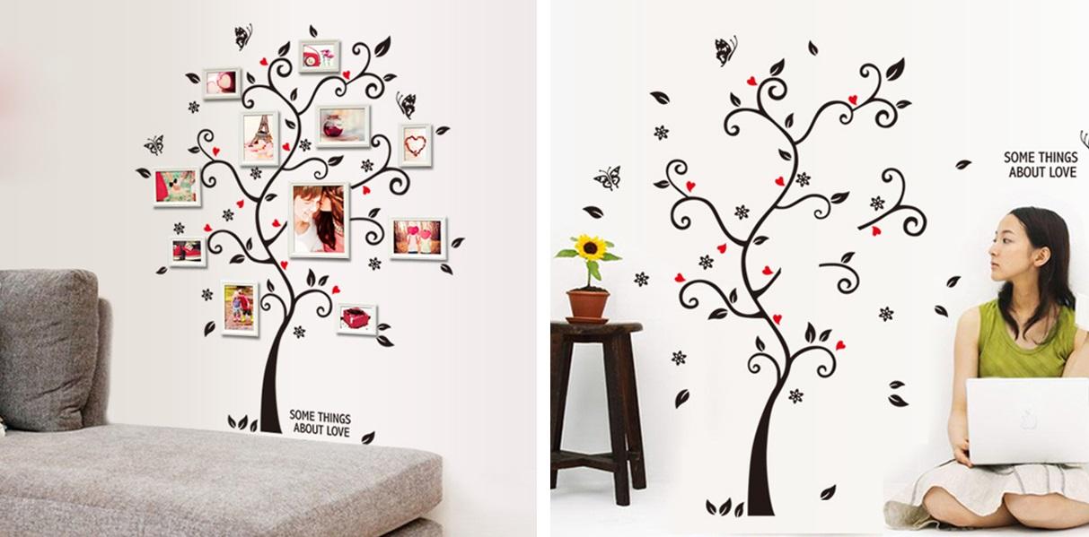 Samolepící tapeta - strom (100 x 120 cm) / 35-00005