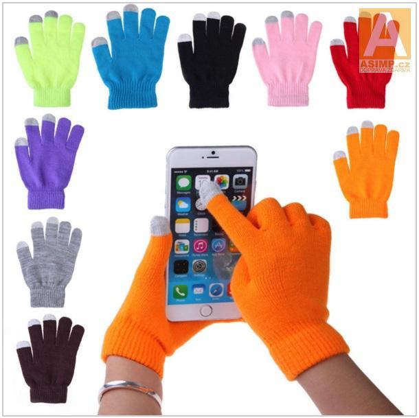 Rukavice pro dotykové telefony / AS5-00004