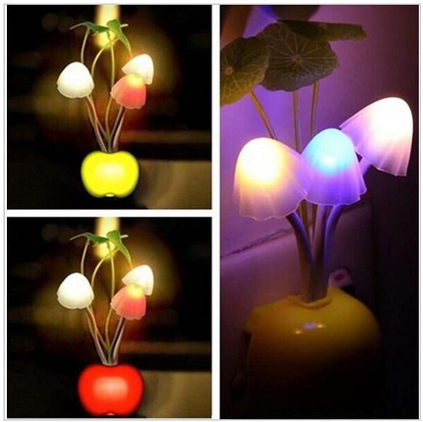 Dekorační noční lampa se světelným čidlem / AS1-00023