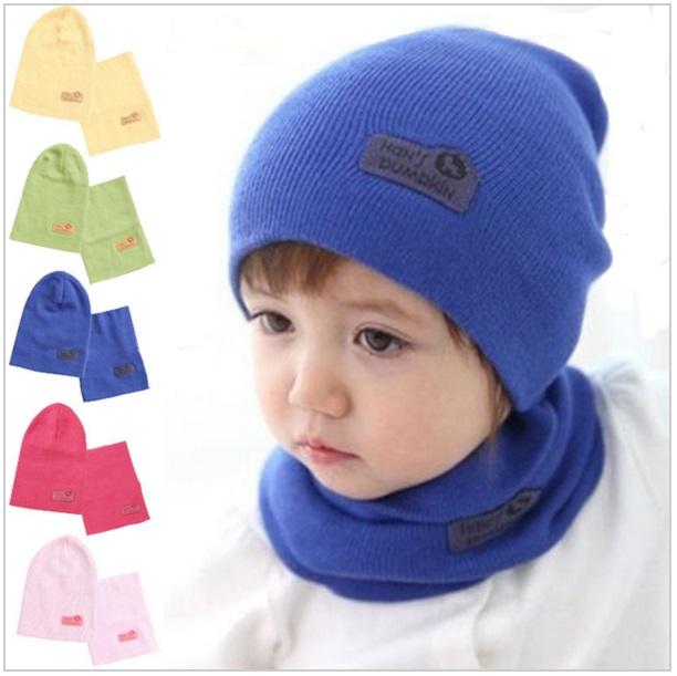 Dětská zimní čepice + šála / ASD11-00034
