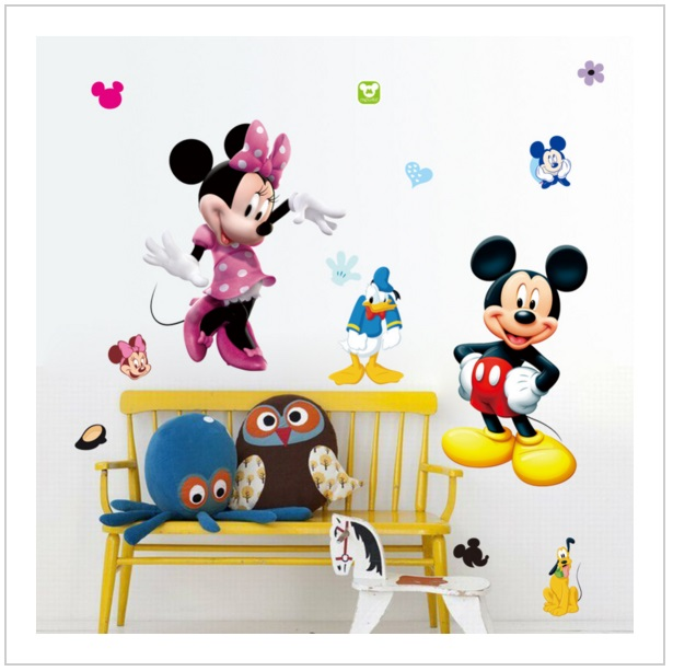 Samolepící tapeta Mickey & Minnie Mouse 50 x 70 cm / AS1-00098