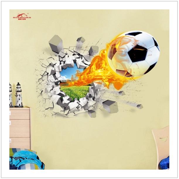 Samolepící tapeta Fotbalový míč 70 x 50 cm / AS10-00108
