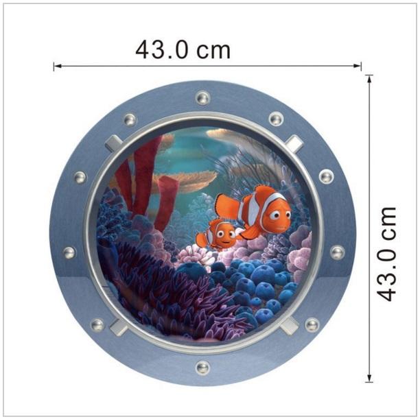 Samolepící tapeta Nemo / AS1-00114