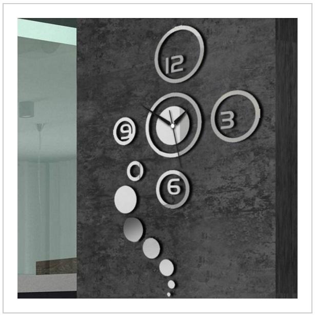 Nástěnné dekorační hodiny / d12-00004