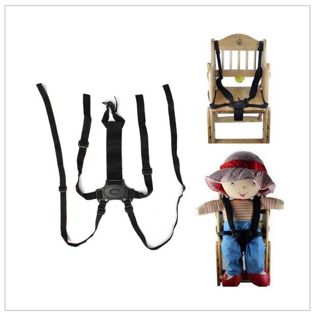 Nastavitelný bezpečnostní pás - do kočárku, na židličku ... / d18-00003