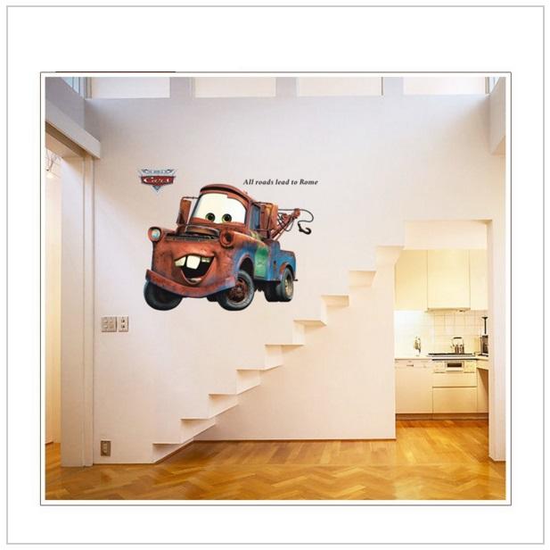 Samolepka na zeď - Auto / d27-00005