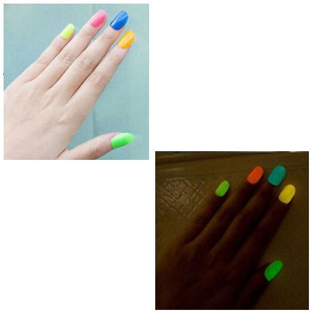 Fluorescenční lak na nehty / d33-00001