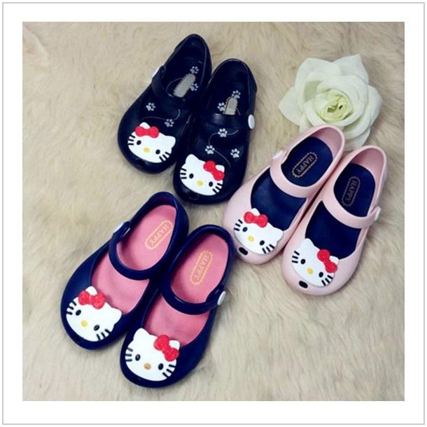Dívčí sandálky - Hello Kitty / dnk-09d-00036