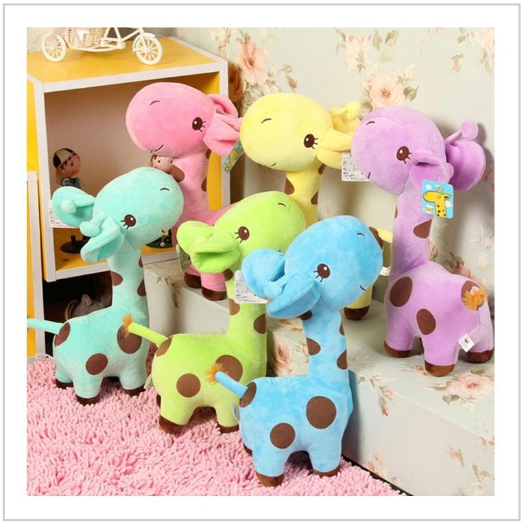Dětská plyšová hračka - Žirafa / tnk-13-01762