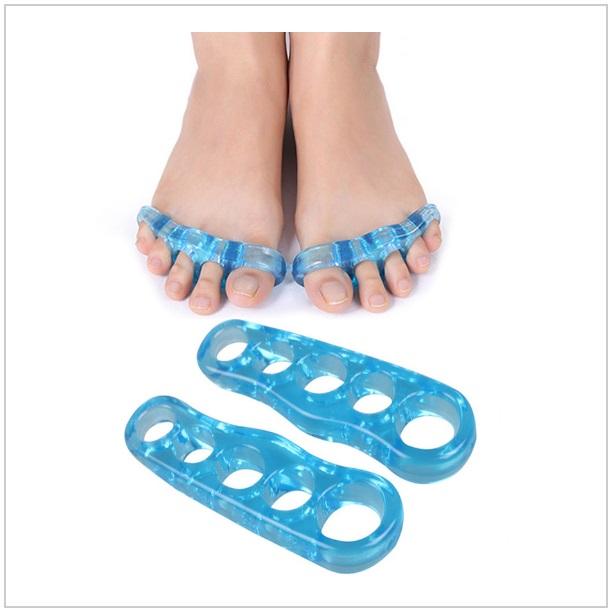 Gelový separátor prstů na noze (1 pár) / tnk-13-01745