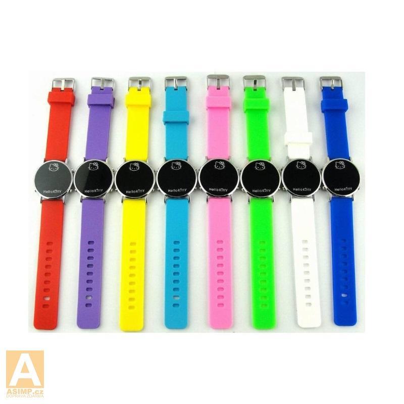Dětské hodinky - Hello Kitty / A-000497