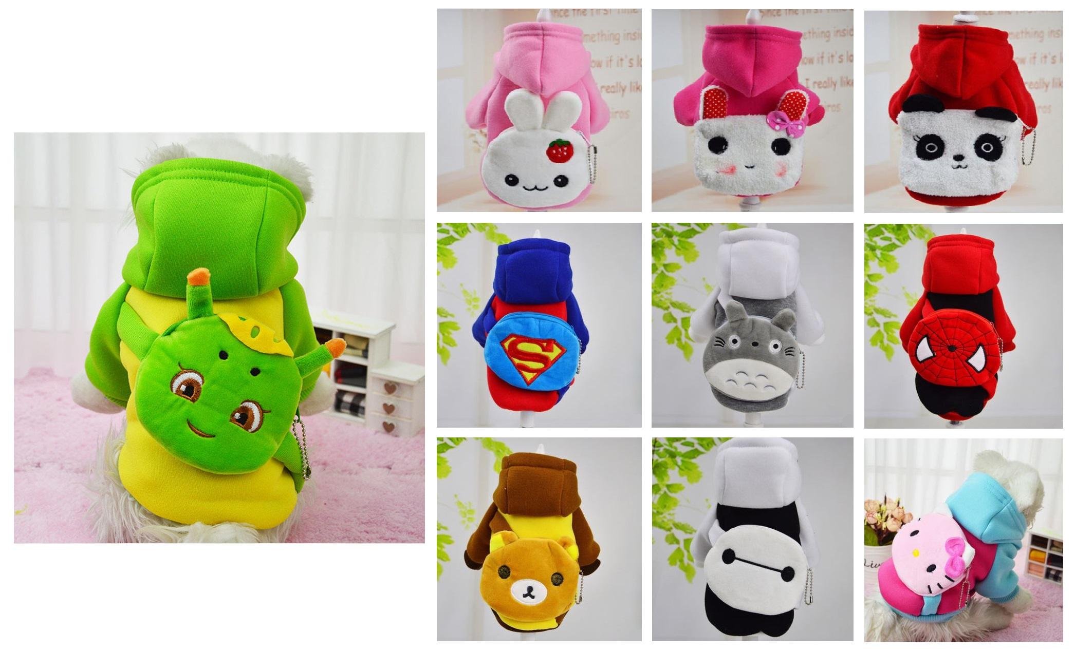Obleček pro psy - Hello Kitty, Superman, Spiderman ... / dnk-13-00054
