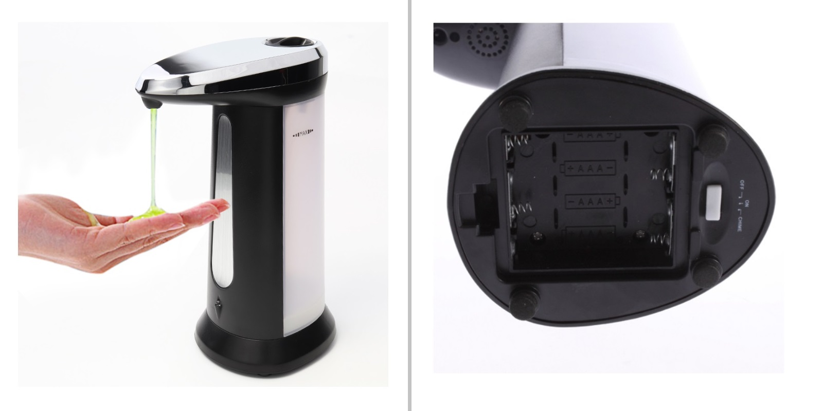 Bezdotykový automatický dávkovač mýdla / A-000447