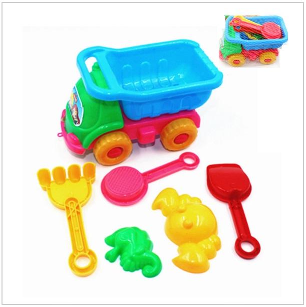 Dětské autíčko s vybavením na písek / dnk-13-00333
