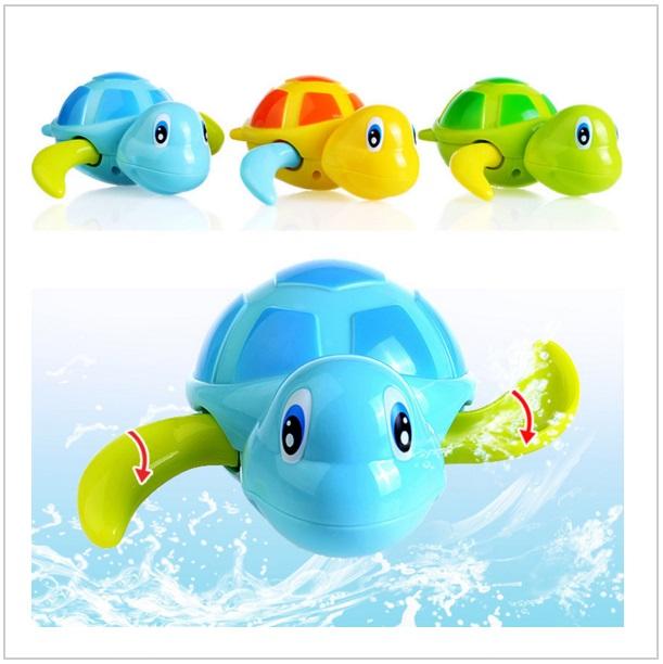 Hračka do vody - natahovací plavající želva / dnk-13-00350