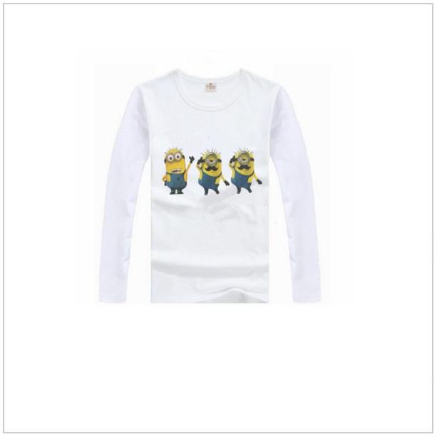 Dětské triko s dlouhým rukávem Mimoň - White